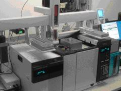 eTrap mounted on Agilent 7890B GC with 5977 MSD and LHX PAL